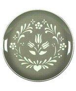 "Harkerware ""Provincial Tulip - Green"" Dinner Plate 10 1/4"" - $22.76"