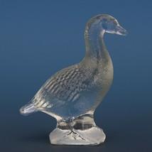 Vintage Smith Glass Miniature Crystal Goose image 2