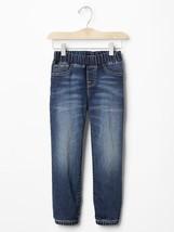 NWT $40 GAP Kids Super Soft Denim Joggers Jeans Pants XS S 4 5 6 7 Regular - $15.99