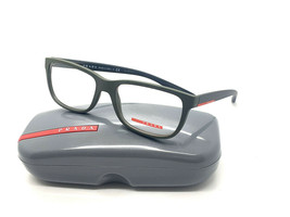 NEW PRADA VPS 02G UBW-1O1 MATTE GREEN MEN'S AUTHENTIC EYEGLASSES FRAME 5... - $96.97