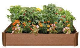 42-inch x 42-inch x 6-inch High Raised Garden Bed Planter Box Kit Stacka... - $71.64 CAD