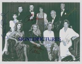 DALLAS CAST SIGNED AUTOGRAPHED 8x10 RP PHOTO BY 9 LARRY HAGMAN PRESLEY T... - $14.69