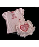 NWT Gymboree Valentine's Day Daddy's Top Bloomer 18-24 M - $18.99