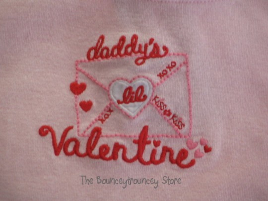 NWT Gymboree Valentine's Day Daddy's Top Bloomer 18-24 M