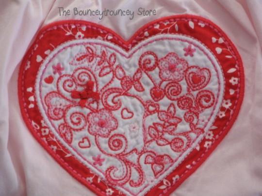 NWT Gymboree Valentine's Day Daddy's Top Bloomer 18-24 M