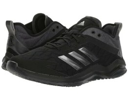 Adidas Speed Trainer 4 Baseball Turf Trainer Shoes Black Carbon Colorway Size 14 - $73.50