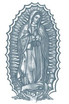 PR311 Temporary Tattoo Our Lady - $5.88
