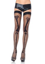LA9944 Net Leg Bone Thigh Highs - $9.88