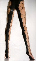 LA9706 (Black) Hexagon Net Pantyhose - $9.88