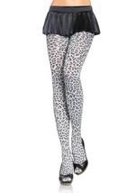 LA7129 Woven Leopard Print Tights - $219,01 MXN