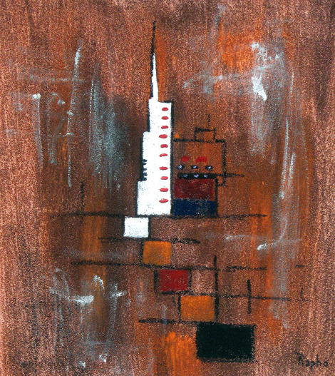 Primary image for Original Painting  -  TOWER