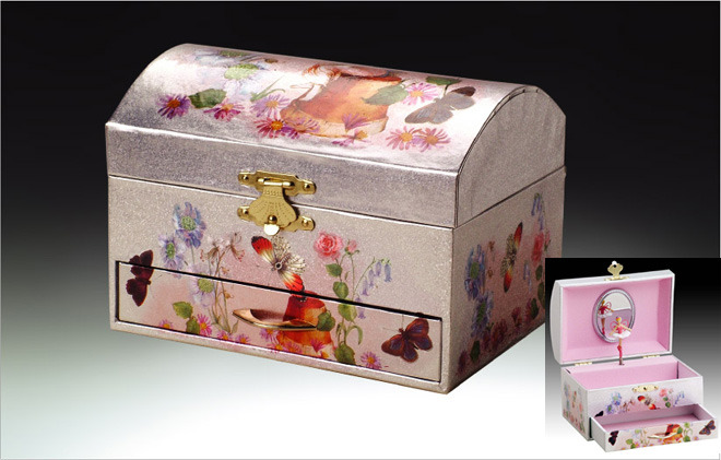 Primary image for Fairy Musical Jewelry Box