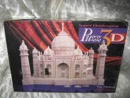 "NEW! Wrebbit Puzz 3D ""Tai Mahai"" 1077 Pcs Super Challenging Puzzle Sealed Box - $79.99"