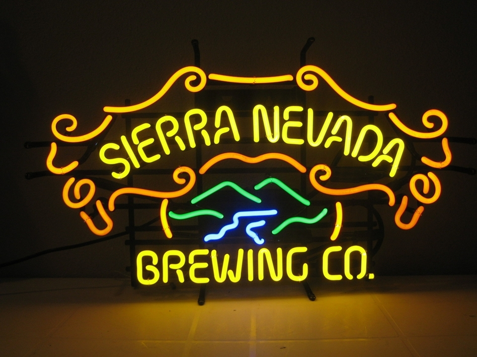 "Primary image for Sierra Nevada Beer Bar Club Neon Light Sign 22"" x 15"""