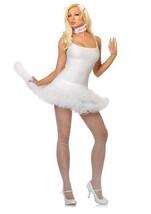 LA83609 (M/L, White) Petticoat Dress - $17.88