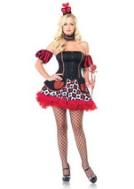 LA83516 (M/L) Wonderland Queen of Hearts - $50.88