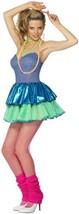 30193 (M 10-12US) 80'S Disco Chick Ra Ra Dress - $43.88