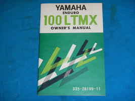 1973 73 Yamaha 100LTMX 100 Ltmx Shop Service Repair Manual - $47.69