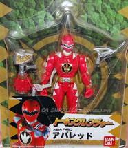 2005 Bandai Power Rangers Talking Dinothunder Aba Red Figure w/ Sound We... - $34.99