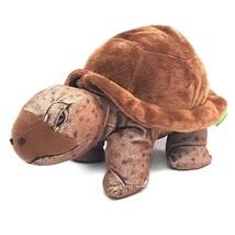 "Wild Republic Brown Tortoise Stuffed Animal Plush 12"" Turtle Classroom 10961 - $12.16"