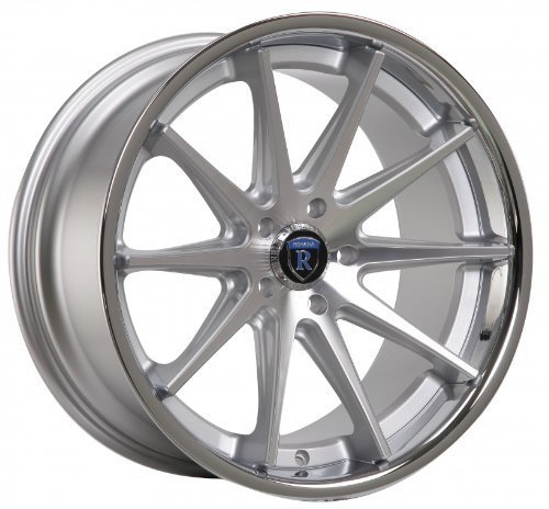 "Primary image for 19"" Wheels Rohana Rc10 19x8.5 19x9.5 Machined Silver Lexus 5x114.3"