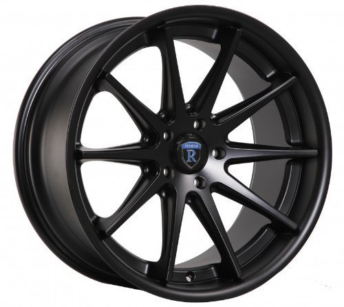 "Primary image for 19"" Wheels Rohana Rc10 19x8.5 19x9.5 Matte Black Genesis Coupe 5x114.3"