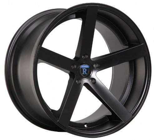 "Primary image for 20"" Rohana Wheel Rc22 20x9 20x10 Matte Black Fits Mercedes-benz C Class 5x112"