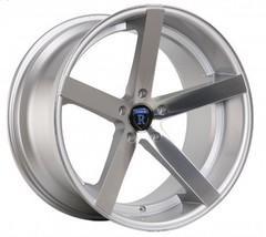 "22"" Rohana Wheel Rc22 22x9.5 22x11 Machine Silver Fits 2008 Ford Mustang 5x114.3 - $2,069.10"