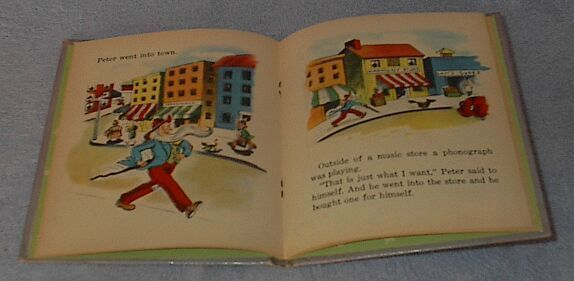 Tell A Tale Book  Peter the Lonesome Hermit 1948 Dorothea J. Snow