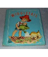 Children's Old Tell a Tall Book Wiggletail 1944 - $9.95