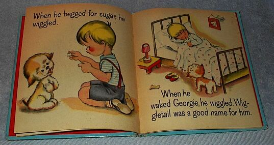 Children's Old Tell a Tall Book Wiggletail 1944