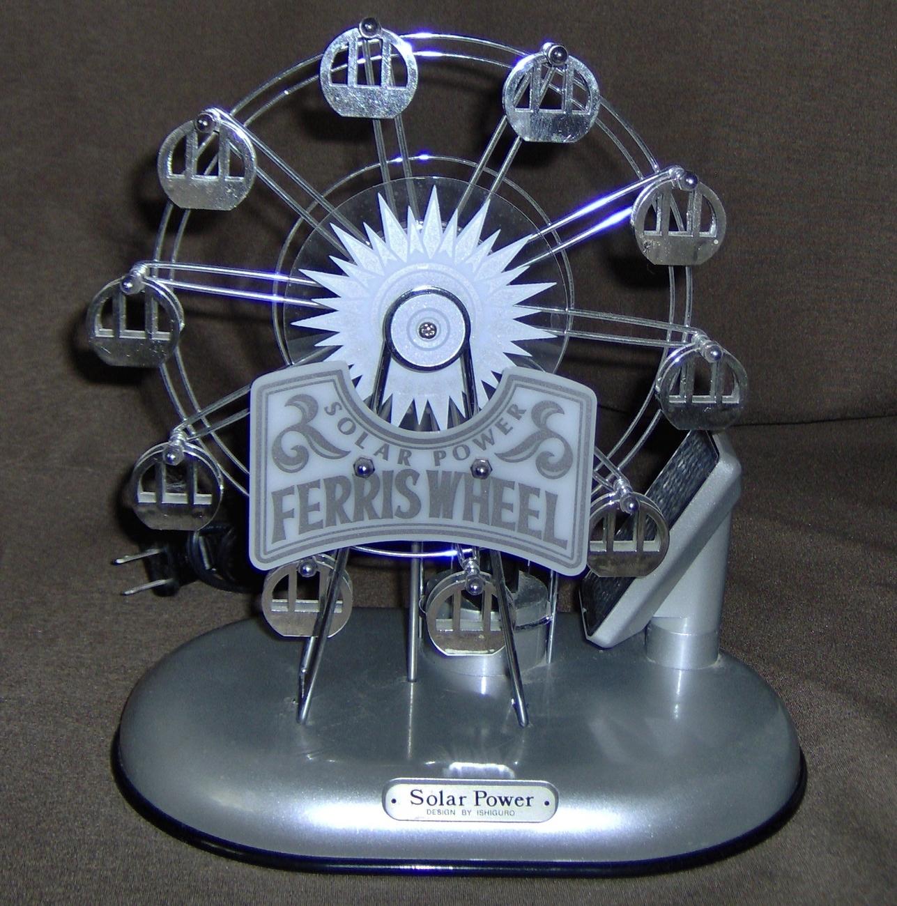 Ferris wheel /solar powered / electric night light