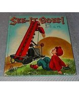 Children's Tell A Tale Book See It Goes - $6.00