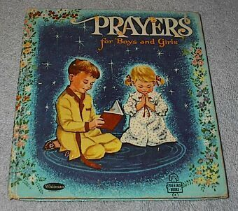 Tell a Tale Book Prayers for Boys and Girls 1957A
