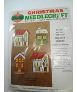 Bucilla Christmas Needlecraft Set 4 Jeweled Holiday Switchplate Covers 8341 - $34.25