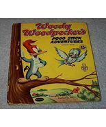 Tell A Tale Book  Woody Woodpecker's Pogo Stick Adventures 1954 - $5.00