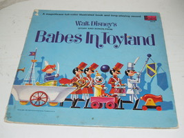 Walt Disney Album-Babes in Toyland - Book and Record - 1961 Storybook - $19.59