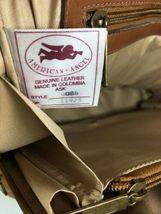 American Angel Brown Leather Multi Pocket Shoulder Bag – Distressed image 12