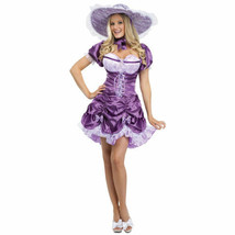 Sexy Southern Belle Purple Adult Costume Fantasy by Fun World Sise S/M 2-8 - $18.39