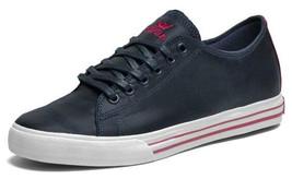 Supra Thunder Low Navy Nylon/Magenta Shoes