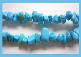 Turquoise 77grams polished stones necklace 1 thumb200