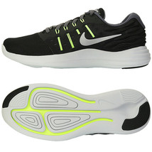 Nike Men's Lunar Stelos 8 Running Shoes Athletic Training Black 844591-006 - $82.99