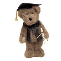 "Boyds Bears ""Mr. Graduate"" #903032- 8"" Plush Graduate Bear- 2003- Retired - $16.99"