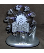 Ferris wheel /solar powered / electric night light - $85.95
