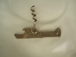 NIFTY POCKET CORK SCREW & BEER BOTTLE OPENER VAUGHAN CO. CHICAGO IL USA - $7.00