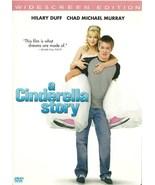A Cinderella Story DVD Hilary Duff Chad Michael... - $2.99