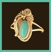 Turquoise indian ss ring 2 thumb200