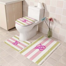 Hot Victoria's_Secret212 Toilet Set Anti Slip Good For Decoration Your Bathroom  - $20.09