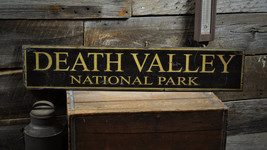 Custom National Park Sign - Primitive Rustic Hand Made Vintage Wooden EN... - $54.00