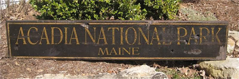 Primary image for Custom National Park Wood Sign - Rustic Hand Made Vintage Wooden Sign WWS000106